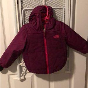 North Face winter coat (reversible)